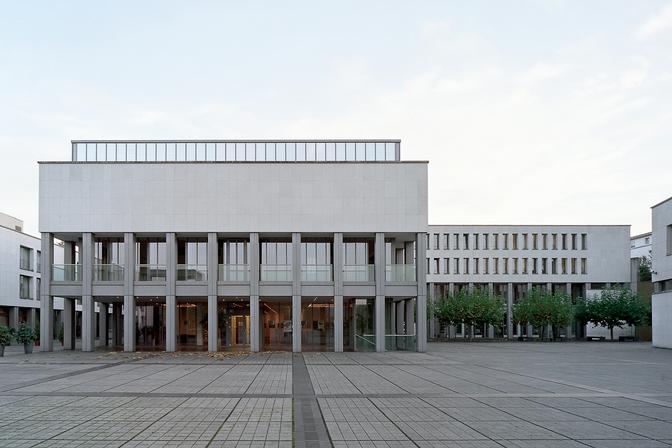 Europäische Rechtsakademie – Außenansicht