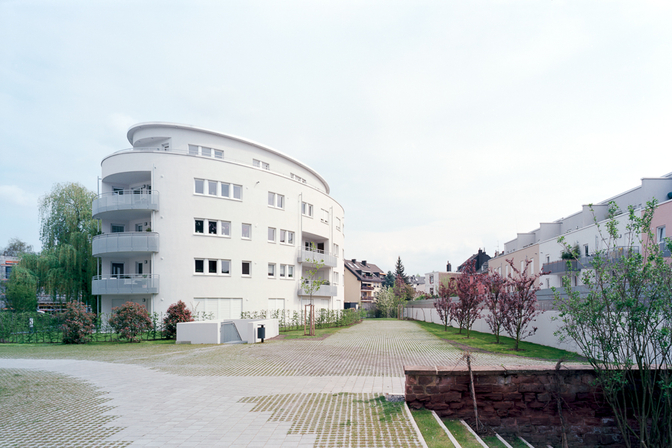 Neubauten Herz-Jesu-Garten